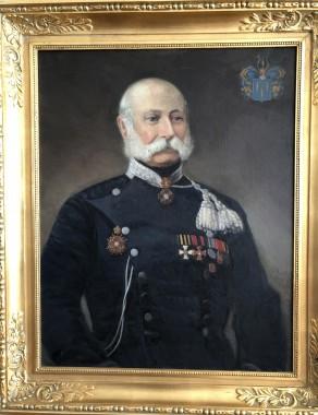 Överste Adolf Willhelm Boije af Gennäs. Född på Sannäs Gård 12.5.1801. Gift med Anna Charlotta Matilda Grundelstierna (adliga ätten 1612).  Död på Illby Gård 23.2.1865.