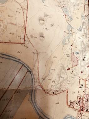 Illby storskifteskarta från 1878.