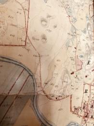 Ilolan isojakokartta vuodesta 1878